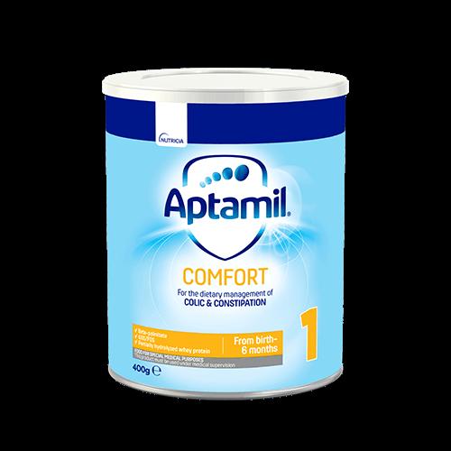 Tin Aptamil Comfort 1