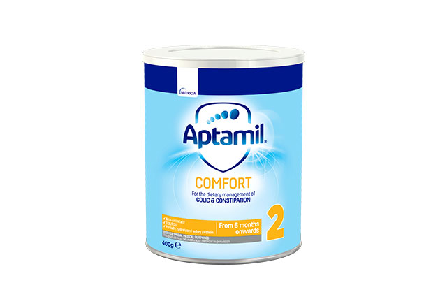 Tin Aptamil Comfort 2