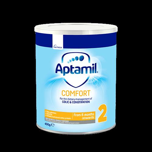 Tin Aptamil Comfort 2