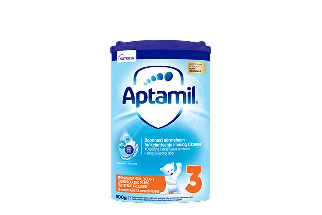 Tin Aptamil stage 3 800g
